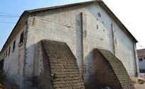 怀旧粮仓外墙