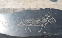 彝族的牛拉车传统图案