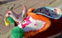 红色小鸟宝宝鞋