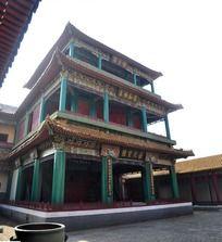 紫禁城里唱戏的阁楼
