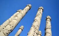 宝林寺漂亮的九龙柱