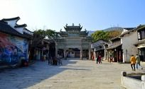 美丽宁静的惠山古镇