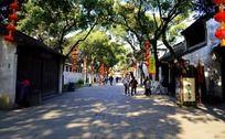 宁静的惠山古镇街道