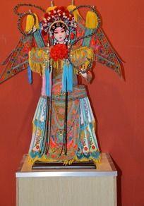 古典传统工艺脸谱穆桂英挂帅