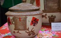 古典传统客家陶艺茶叶罐