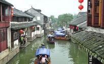 周庄古镇河畔的民居