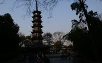 昭庆禅寺的傍晚