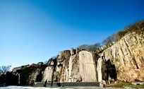 泰山唐摩崖石刻全景