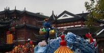 上海城隍庙灯展-牛郎织女