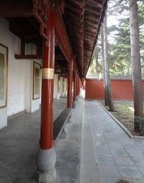 洛阳白马寺走廊