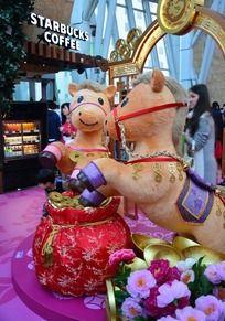 香港朗豪坊马年装饰