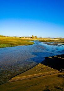 坝上草原河流