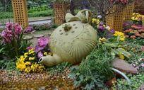 广州烈士陵园茶主题花艺展