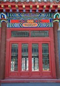 明如寺古老门窗