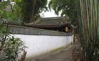 杜甫草堂围墙