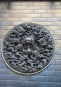 铜雕艺术龙