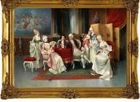 珍藏版宫廷油画
