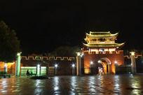 凤凰广场夜景