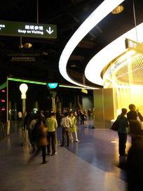 上海世博会中国馆内