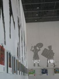 上海世博会中国馆走廊