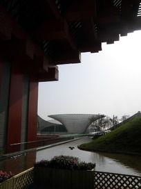 世博会中国馆屋檐