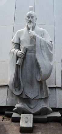 八公山刘安雕像