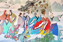 汉淮南王宫彩绘