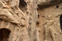 洛阳龙门石窟石刻