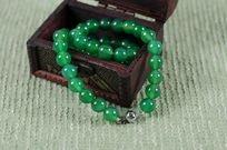 绿色玛瑙手链