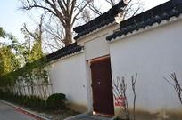 千年古镇民居砖墙