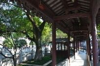 安亭老街木长廊