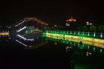 开封石桥夜景