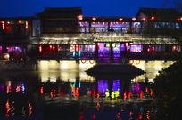 西塘古建筑夜景