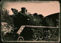 798的老火车