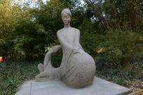 古猗园女神雕像