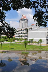 集美大学尚大楼建筑