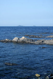 蔚蓝色的大海