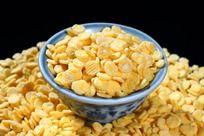 质感细腻的玉米片