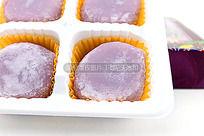 台湾小吃图片 高清麻薯摄影图