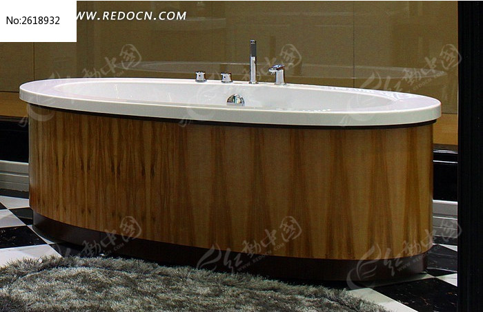 木质陶瓷浴缸