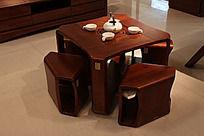 实木茶桌组合