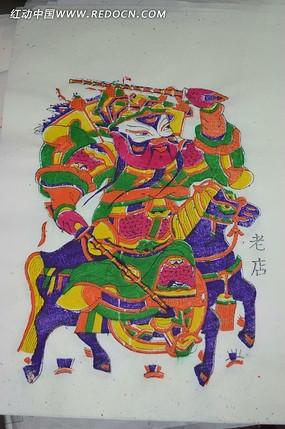 朱仙镇木板年画近摄