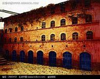 红墙历史建筑