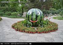 颐和园里的大西瓜