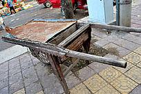 怀旧独轮车
