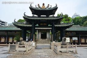 广州五羊仙馆牌坊正门