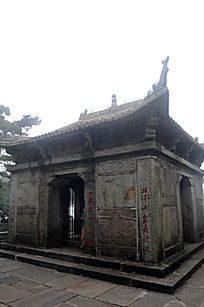 庐山上的古建筑