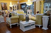 欧式精美的客厅效果图