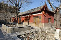 圆融寺的小殿