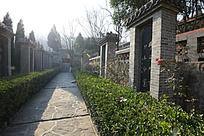 圆融寺里的幽静小道